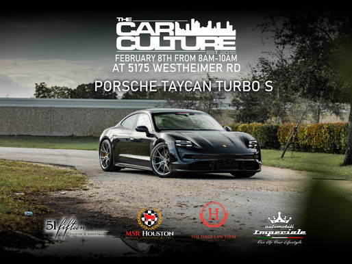 Porsche Taycan Turbo S Confirmed for Supercar Saturday!