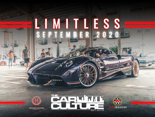 Houston Car Shows | Limitless | September 2020