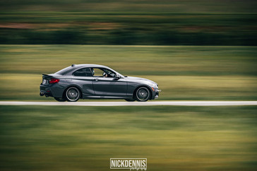 Gabe's M235i at our Track day