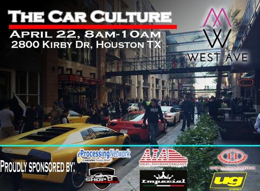 The Car Culture April 2017 show