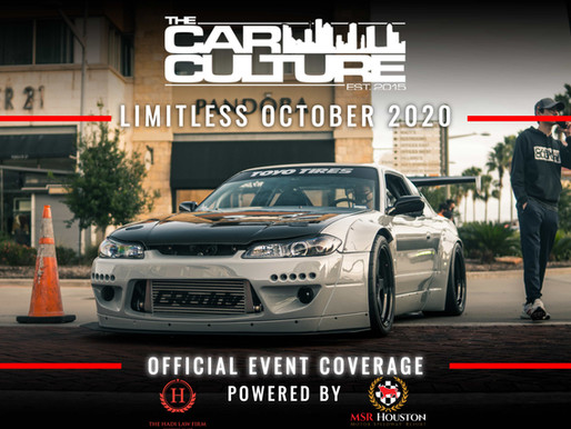 Houston Car Shows | Limitless | October 2020