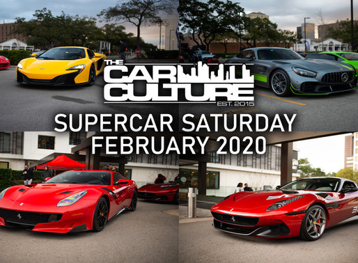 Supercar Saturday Houston February 2020