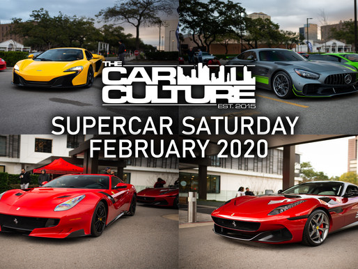 Supercar Saturday Houston February 2020