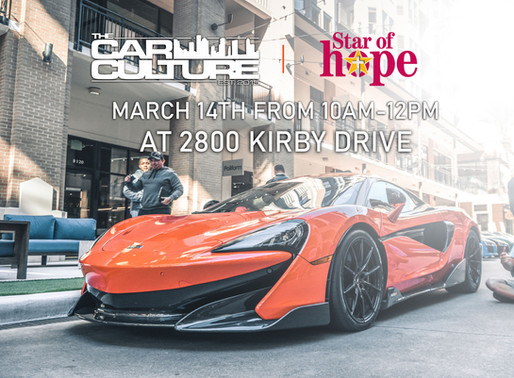 JUST ANNOUNCED: The Car Culture March 2020!