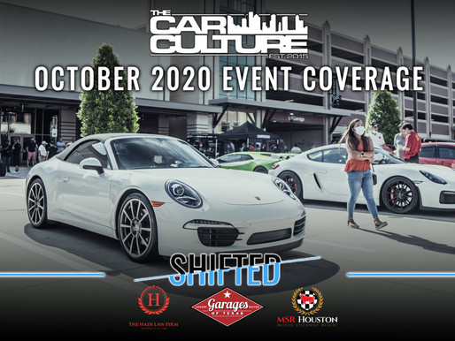 Houston Car Shows | Shifted | October 2020