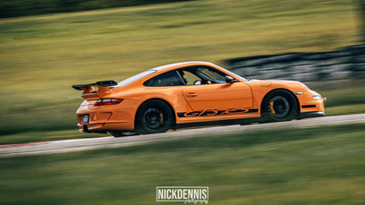 Porsche GT3RS at our track day