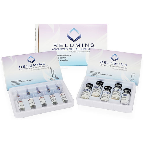 Relumins Advanced White Glutathione 3500mg IV Drip Set