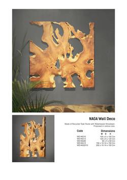 14. NAGA Wall Decor