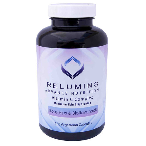 Relumins Advance Vitamin C - MAX Skin Whitening Complex With Rose Hips & Bioflav