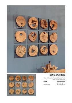 17. GENTA Wall Deco