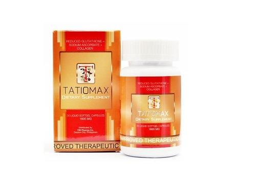 Tatiomax Softgel Reduced L-Glutathione with Vitamin C 1600mg x 30