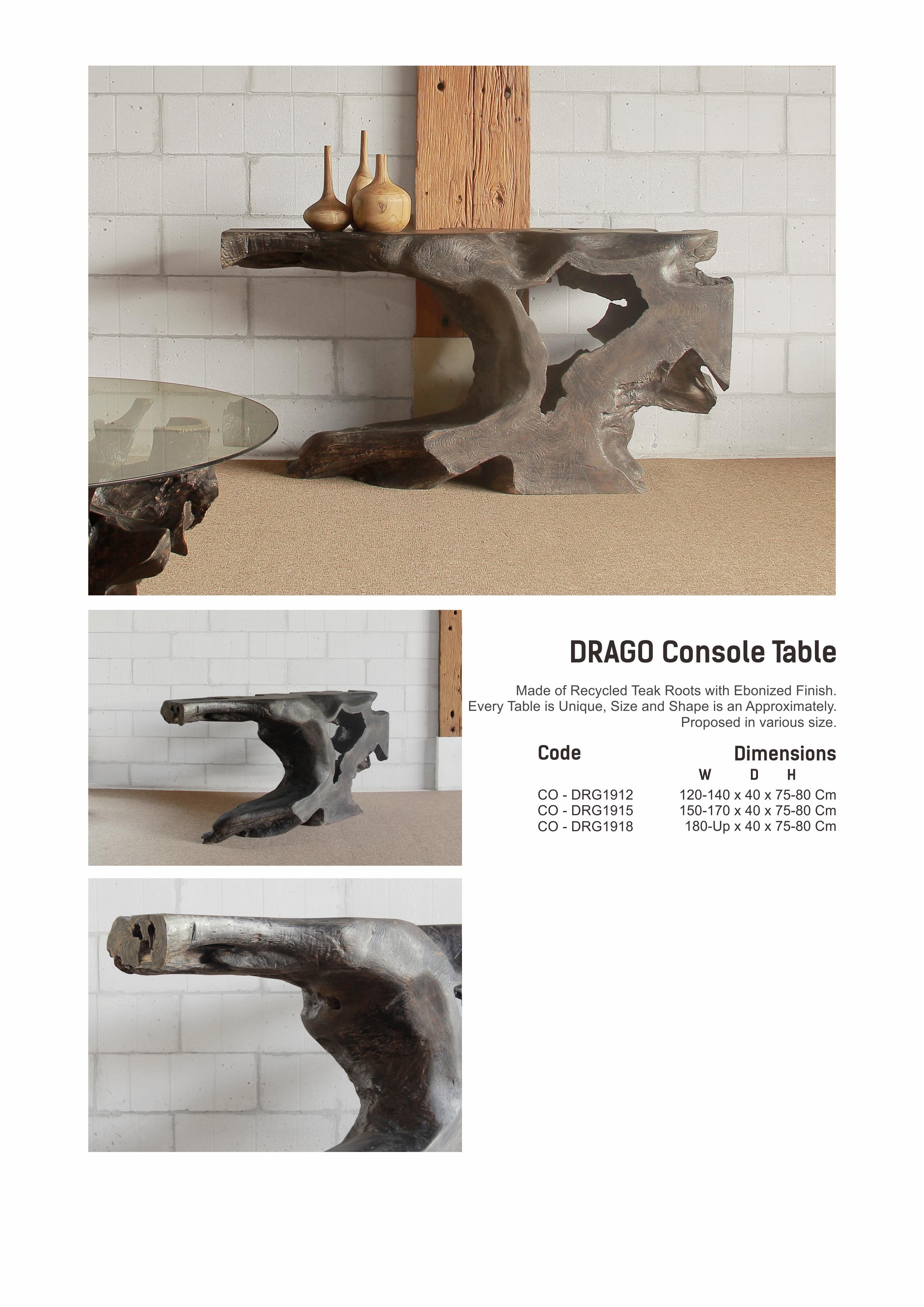 19. DRAGO Console Table