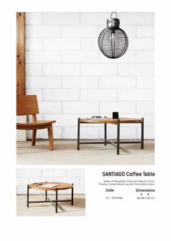 16. SANTIAGO Coffee Table