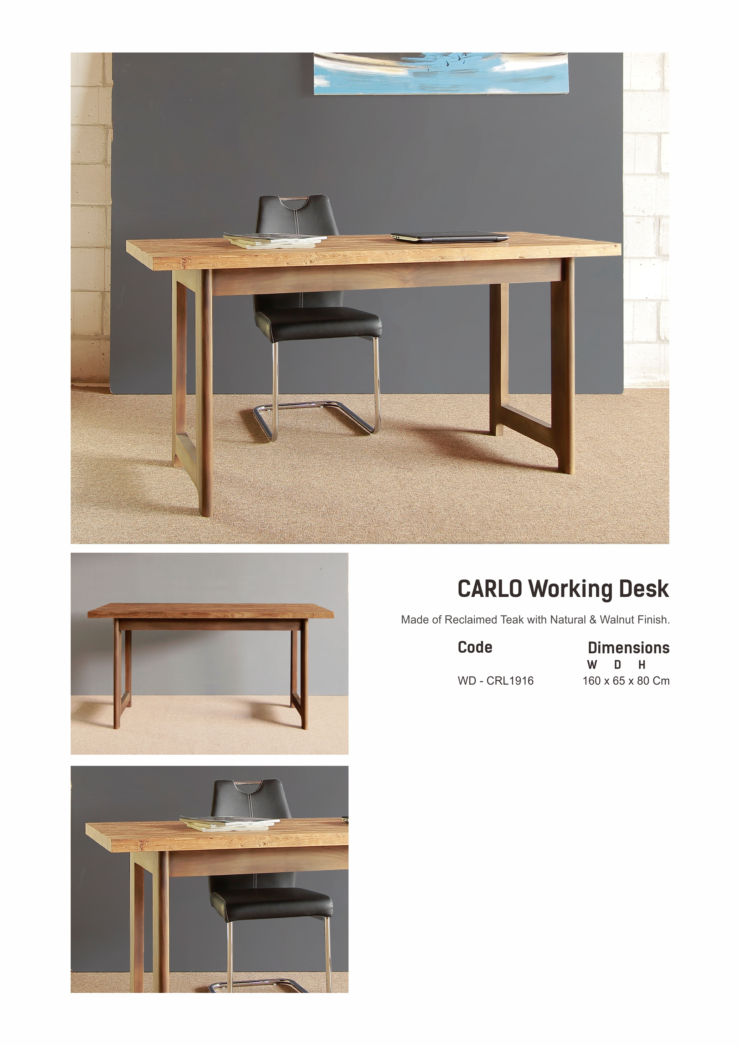 19. CARLO Working Desk