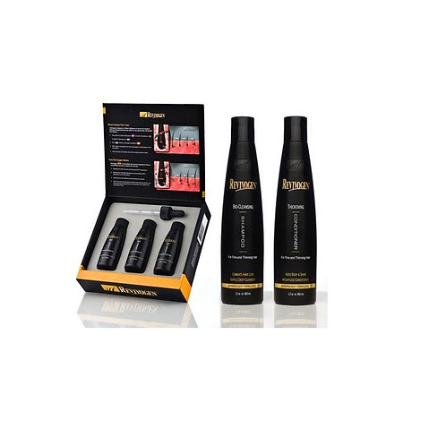 Revivogen Scalp Therapy Complete Pack 3-month supply with Thickening Conditioner
