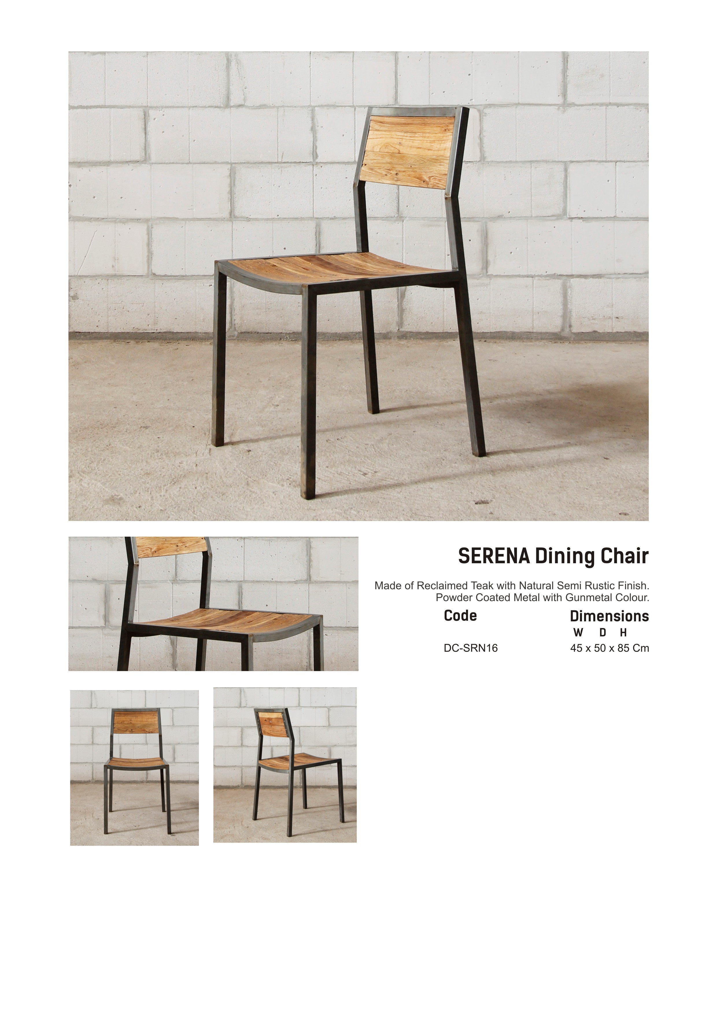 16. SERENA - Dinning Chair