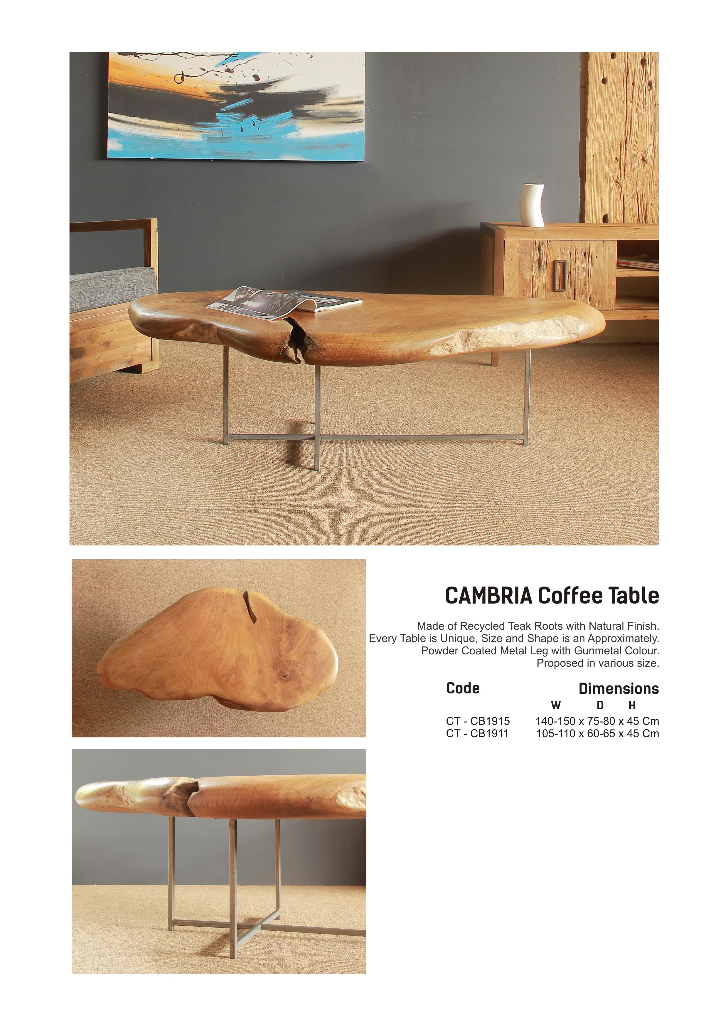 19. CAMBRIA Coffee Table