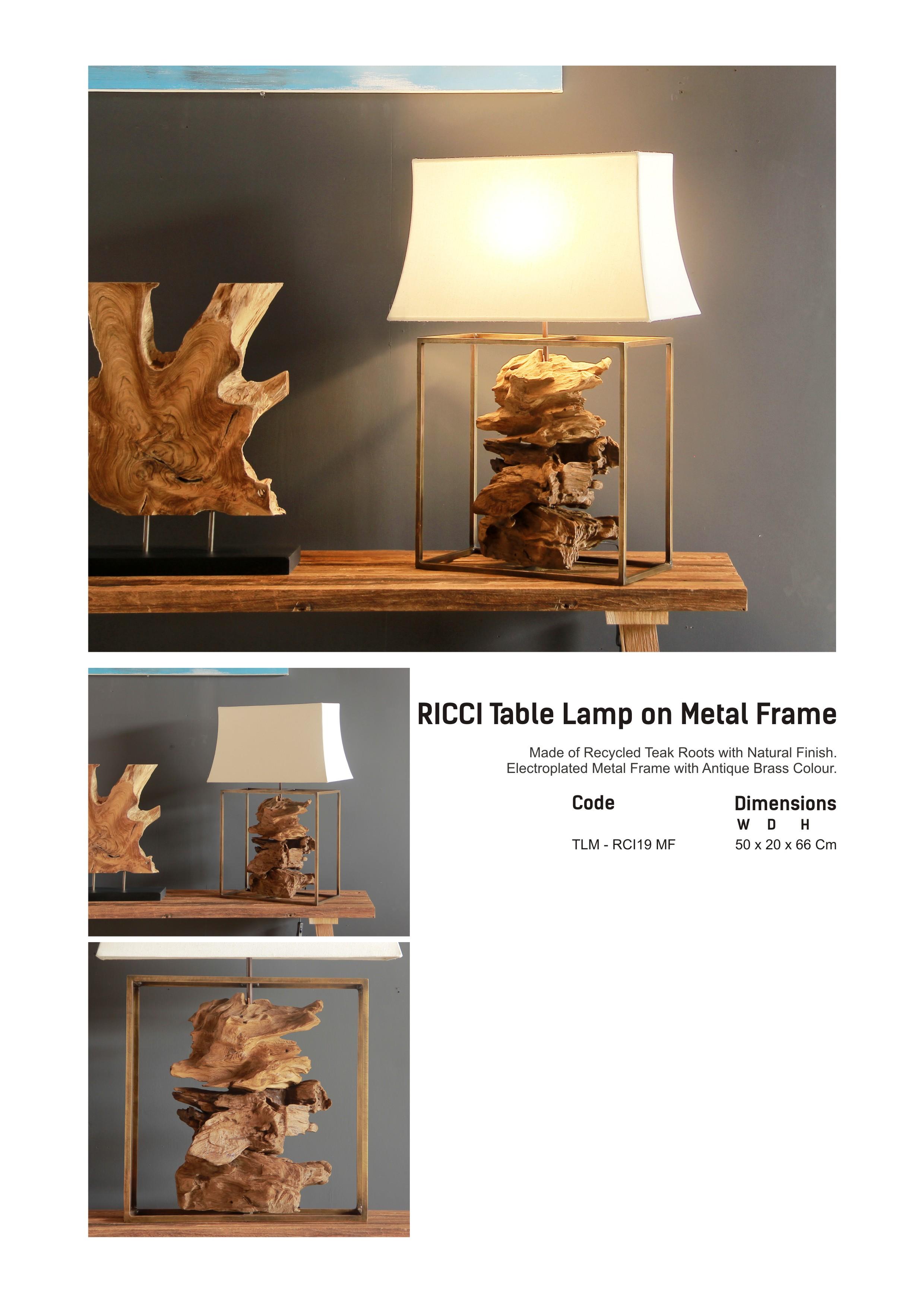 19. RICCI Table Lamp2