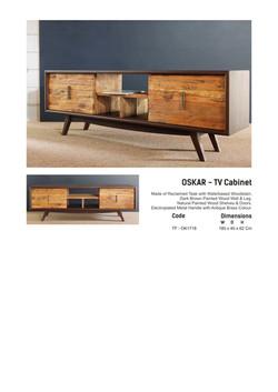 17. OSKAR - TV Cabinet