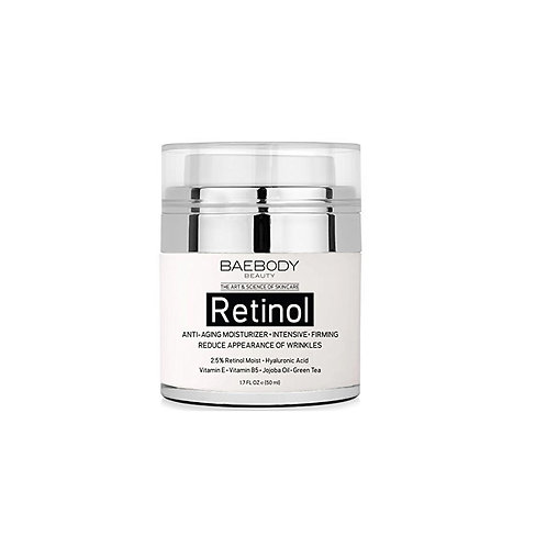 Baebody Retinol Moisturizer Cream for Face and Eye Area Best Day and Night Cream