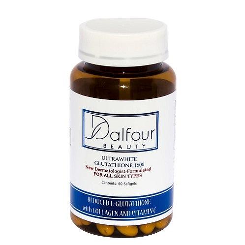 Dalfour Beauty Ultrawhite Glutathione Whitening Capsules w/ Collagen & Vitamin C