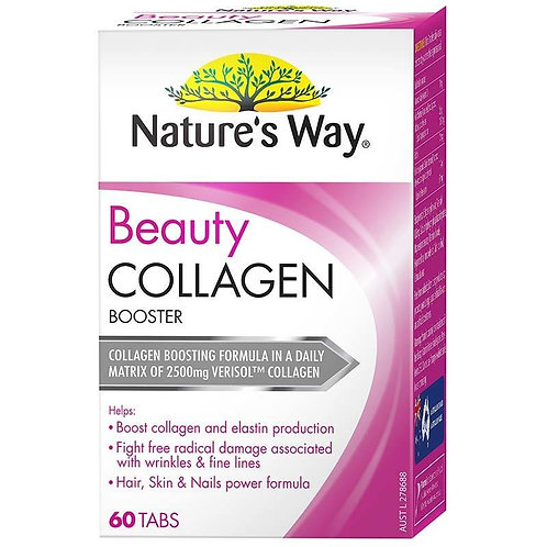 Nature's Way Beauty Collagen Booster - Support Healthy Collagen & Elastin