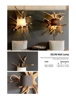 19. SELMA Wall Lamp