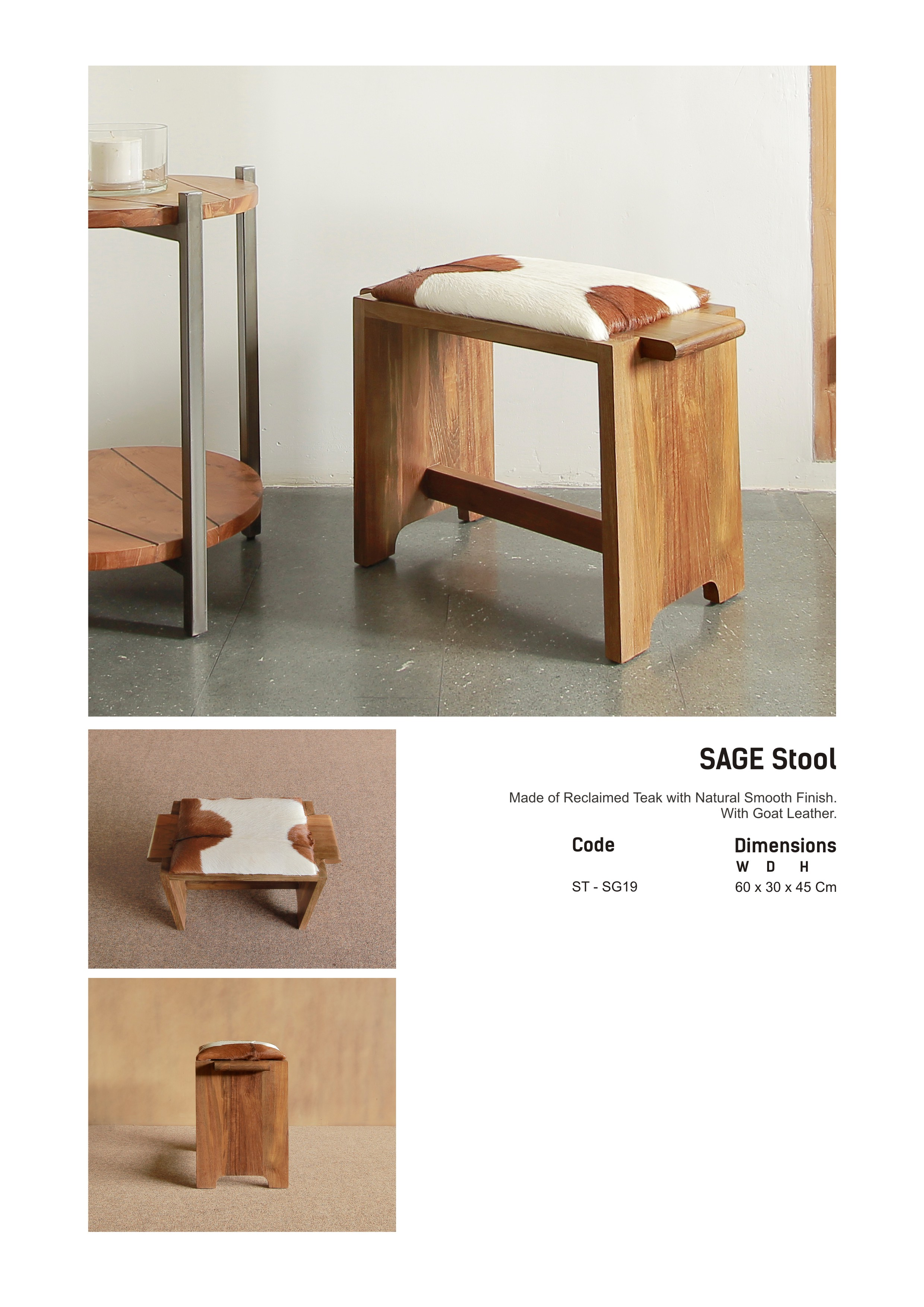 19. SAGE Stool