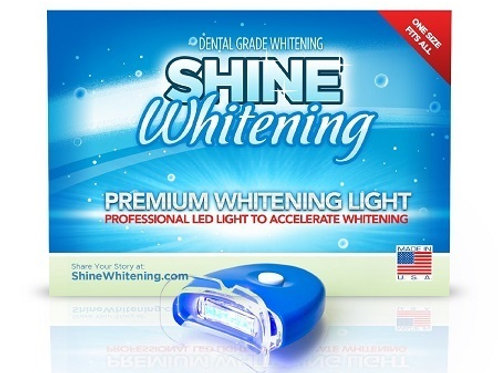 Shine Whitening - Blue Teeth Whitening Light