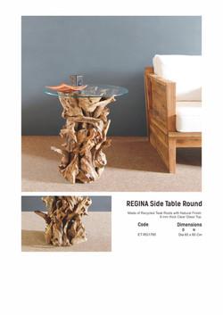 18. REGINA Side Table Round