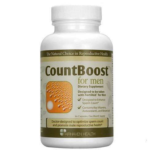 CountBoost Sperm Count Booster for Men 60 Capsules