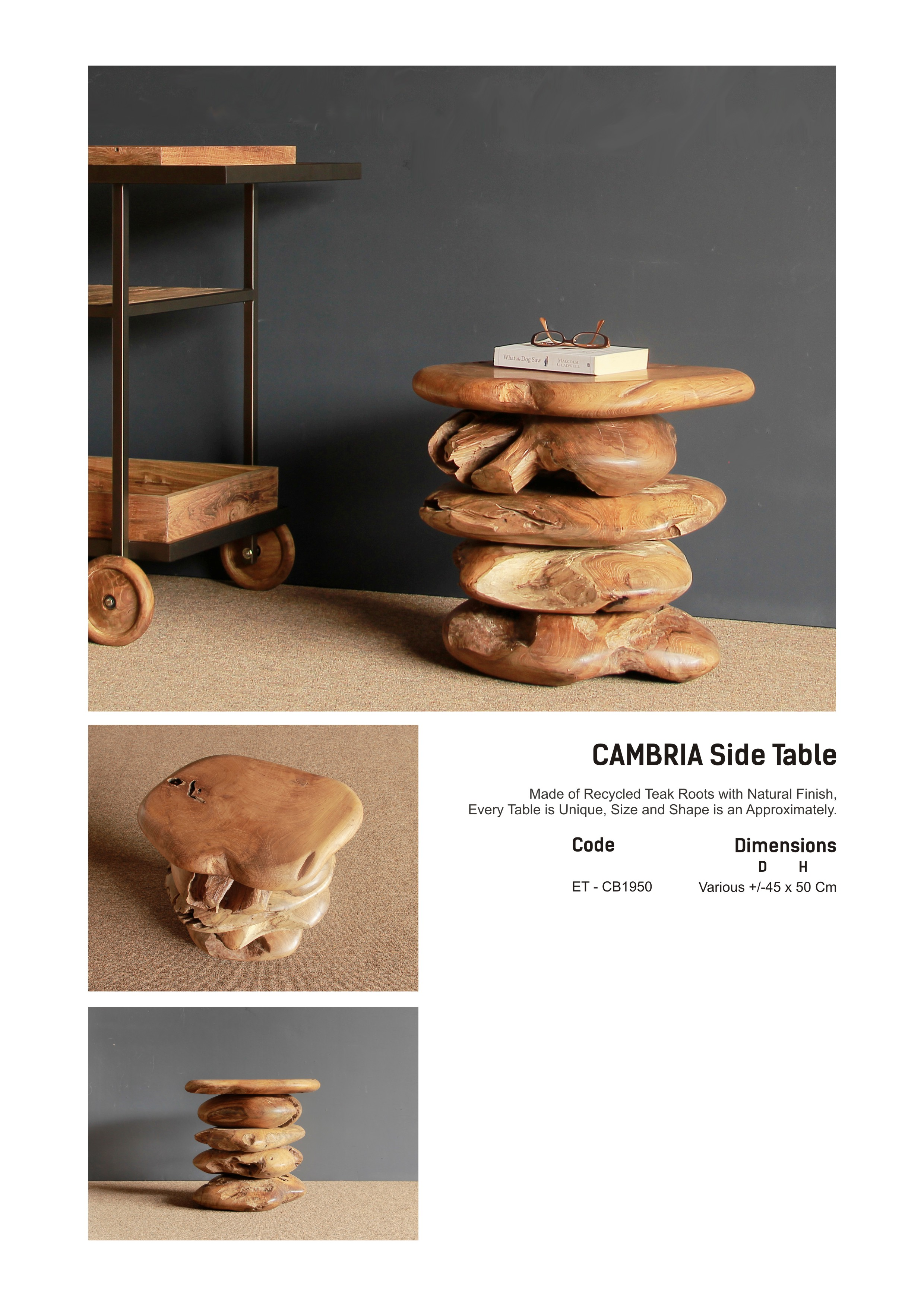 19. Cambria Side Table