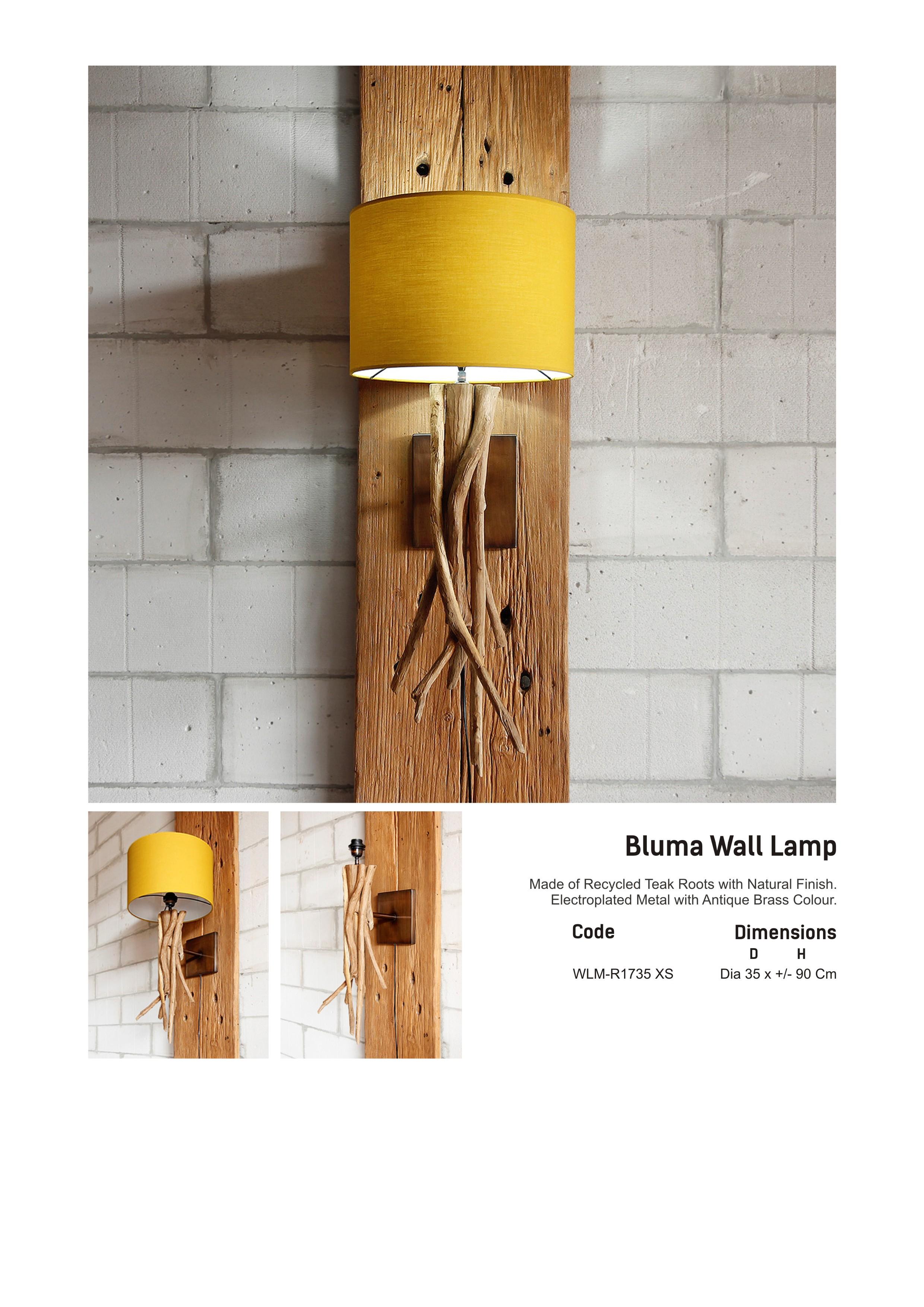 17. BLUMA Wall Lamp XS