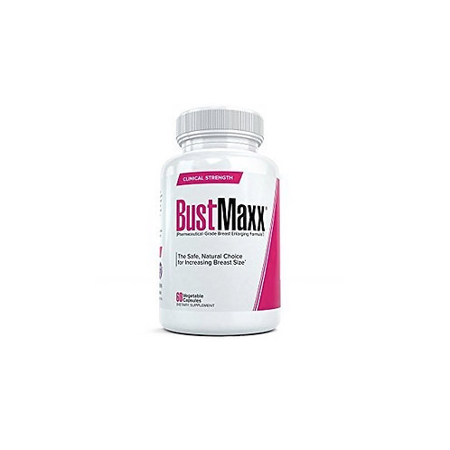 BustMaxx Bust and Breast Enhancement Pills Natural Breast Enlargement 60 Capsule