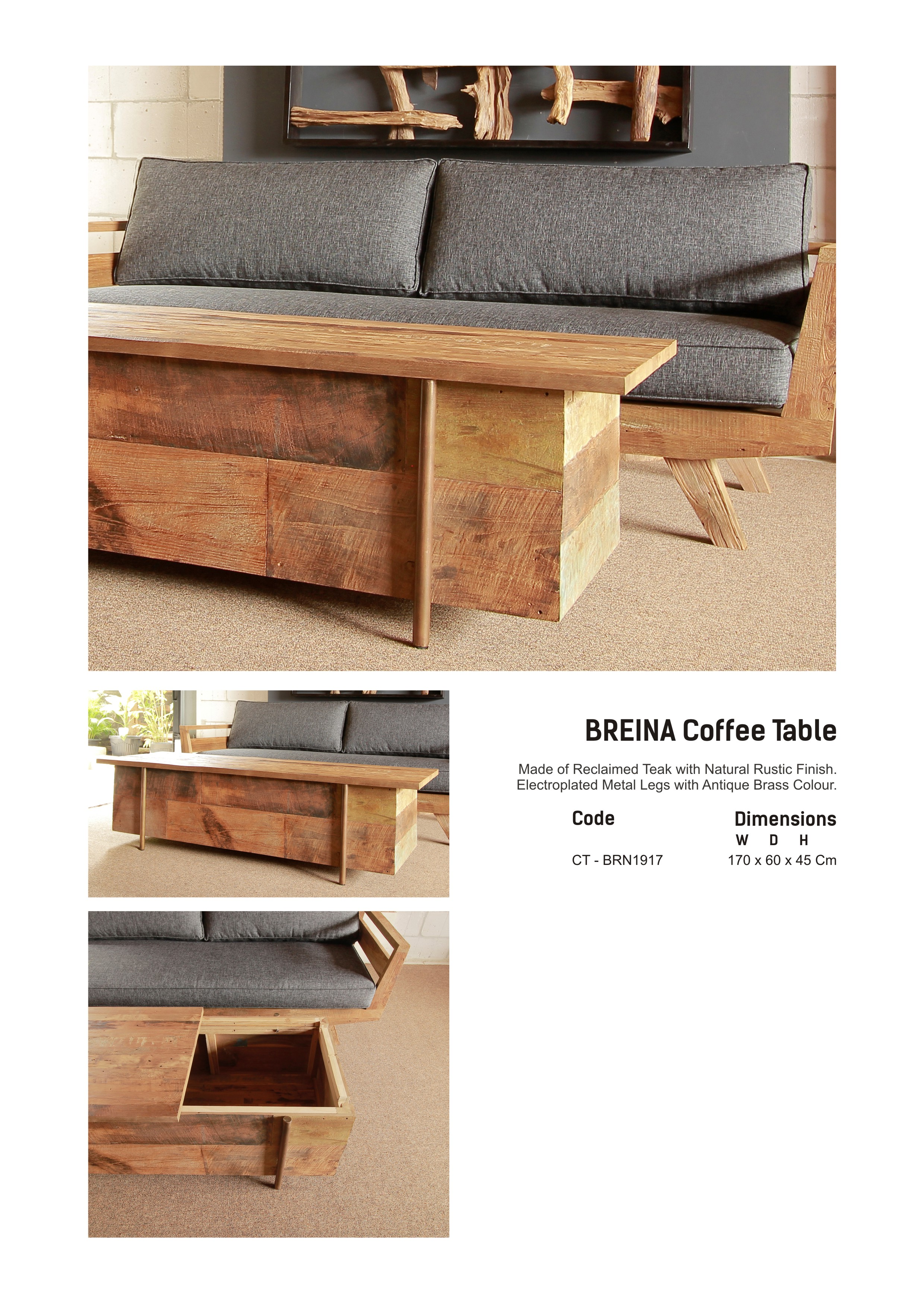 19. BREINA Coffee Table
