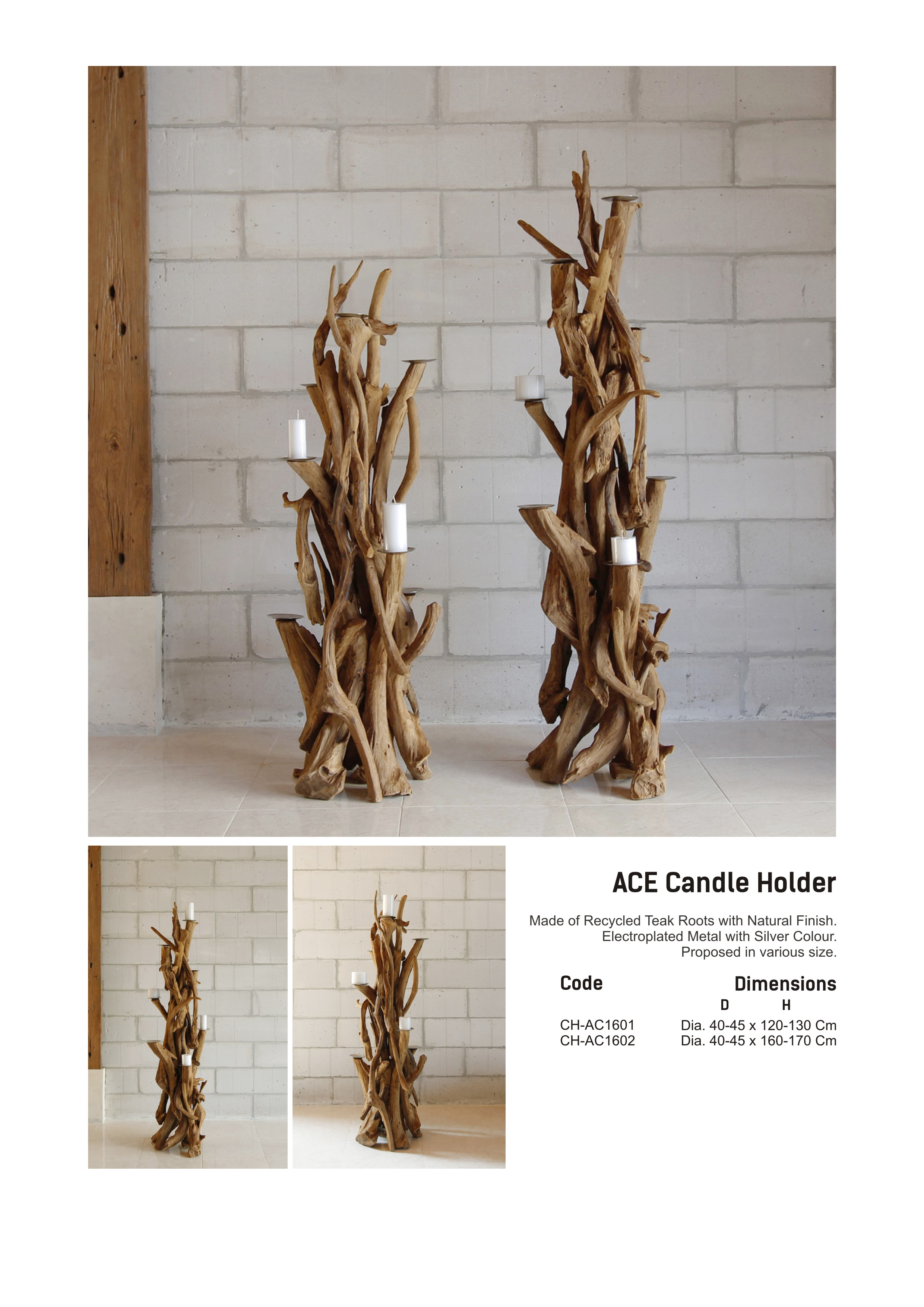 16. ACE Candle Holder