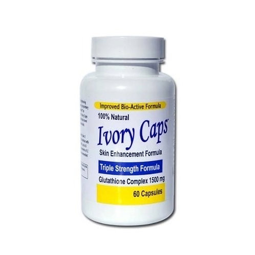 Ivory Caps  Triple Strength Glutathione 1500mg x 60