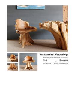 18. NAGA - Armchair