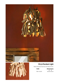 18. VILLA Pendant Light
