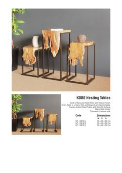 19. KOBE Nesting Tables