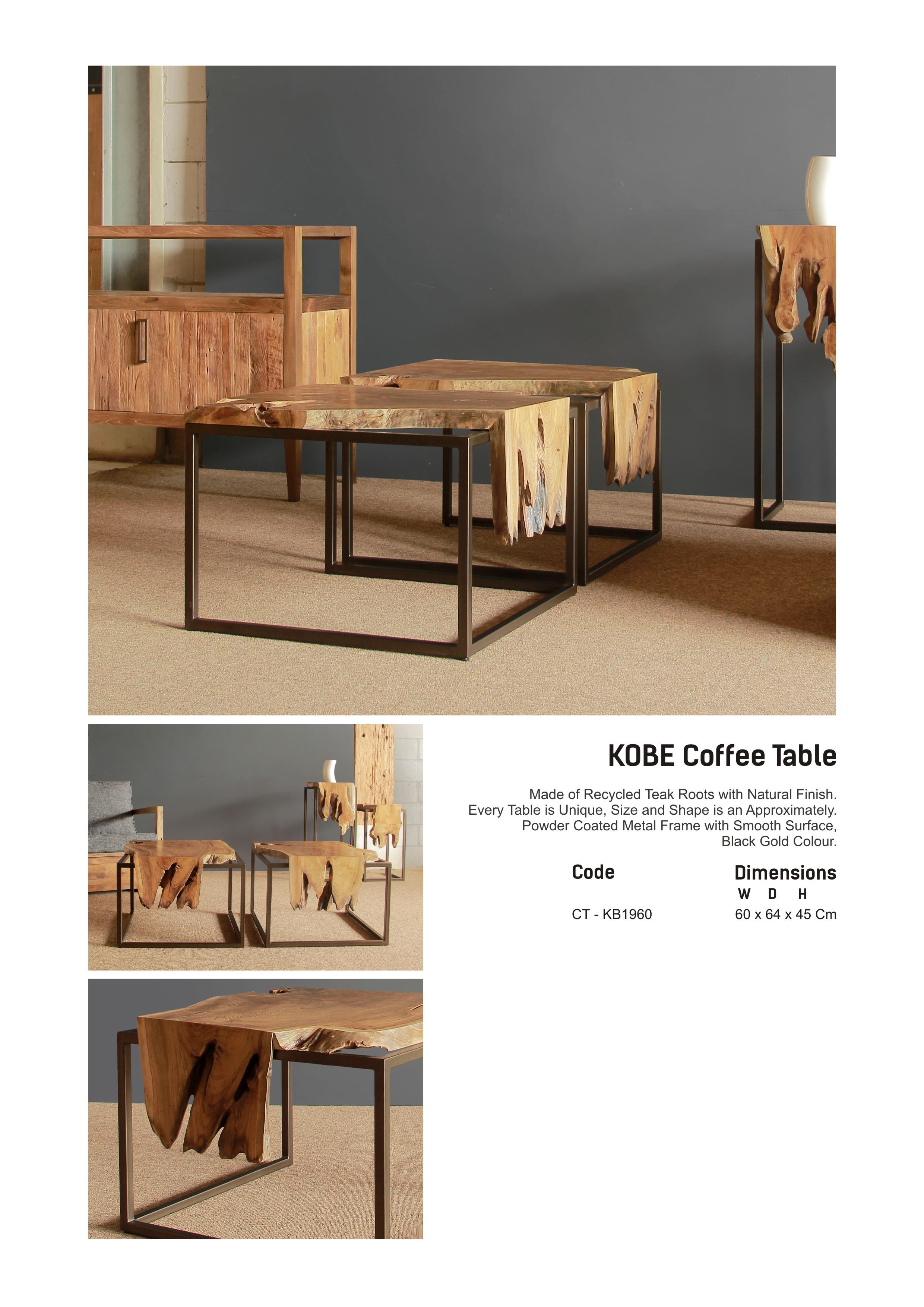 19. KOBE Coffee Table