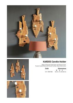 19. KARDOS Candle Holder