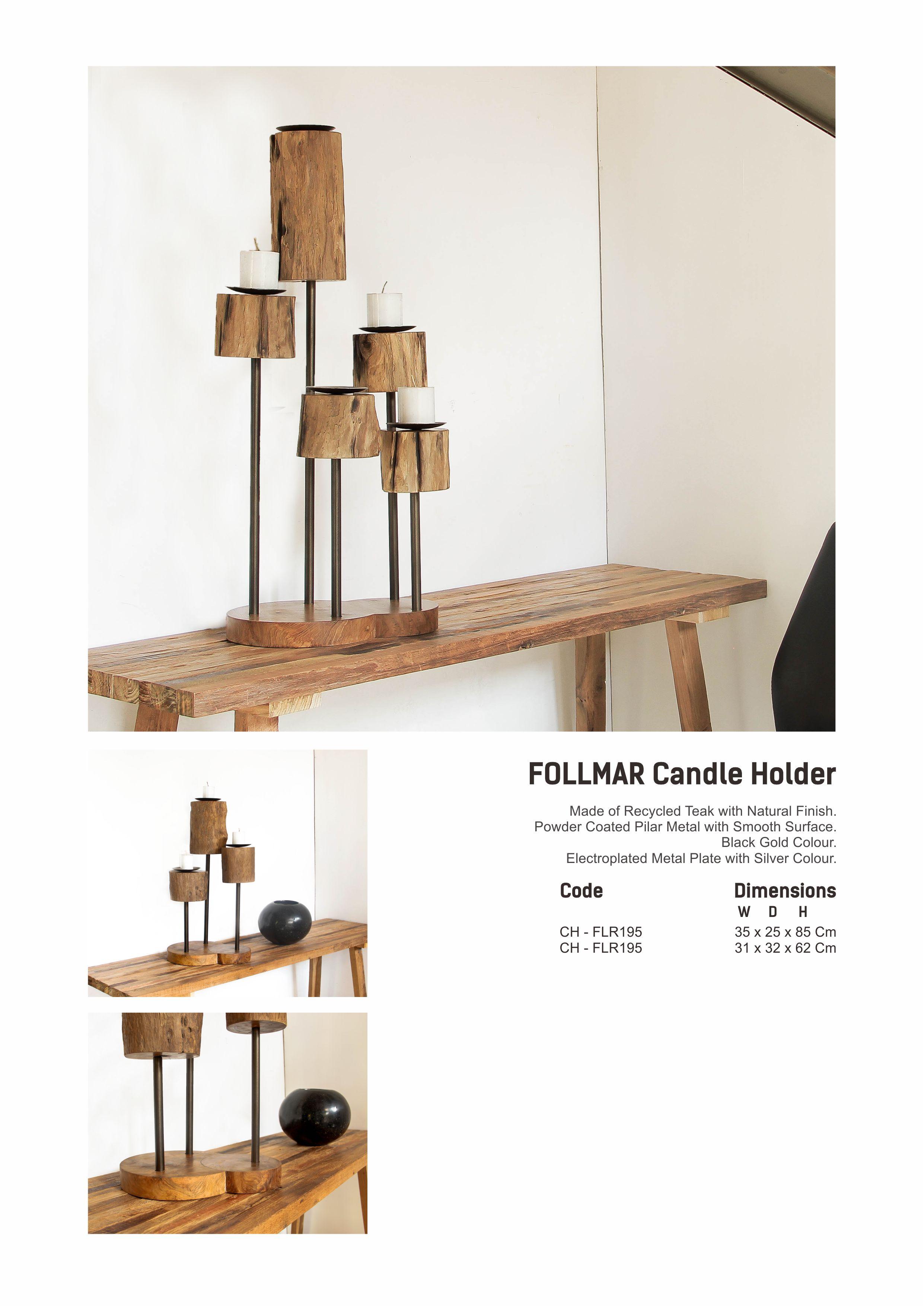 19. FOLMAR Candle Holder