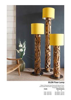 17. XILON PIPE Floor Lamp