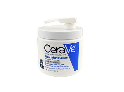 CeraVe Moisturizing Cream with Pump, 16 Ounce