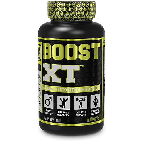 Jacked Factory Boost-XT Testosterone Booster for Men 60 capsules