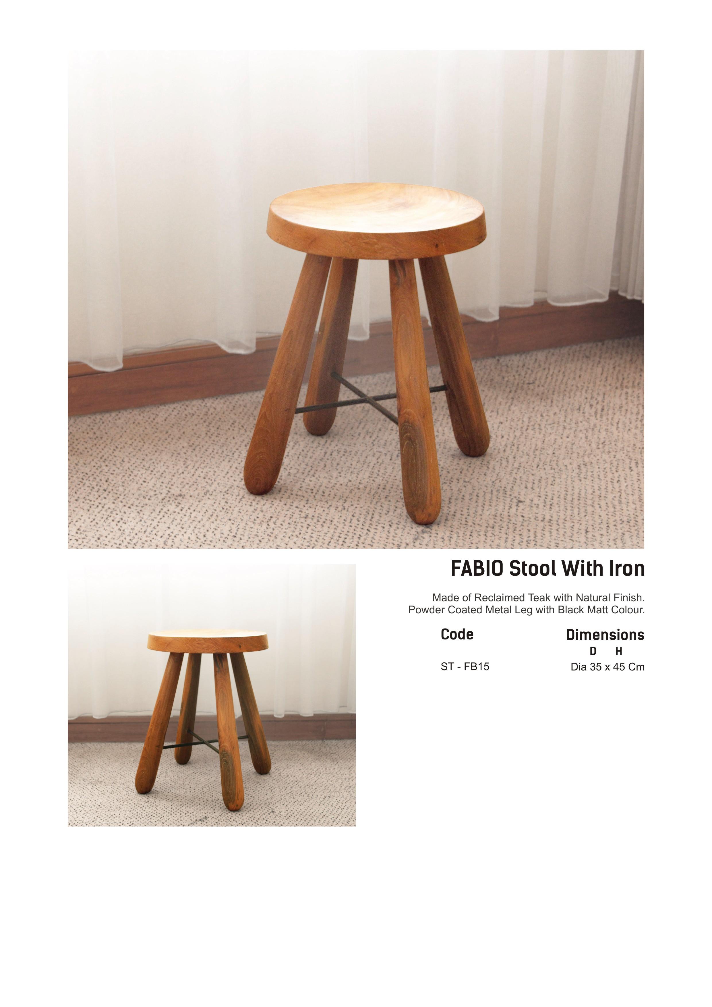 15. FABIO - Stool