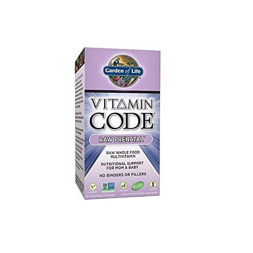 Garden of Life Prenatal Multivitamin Supplement 90 Capsules