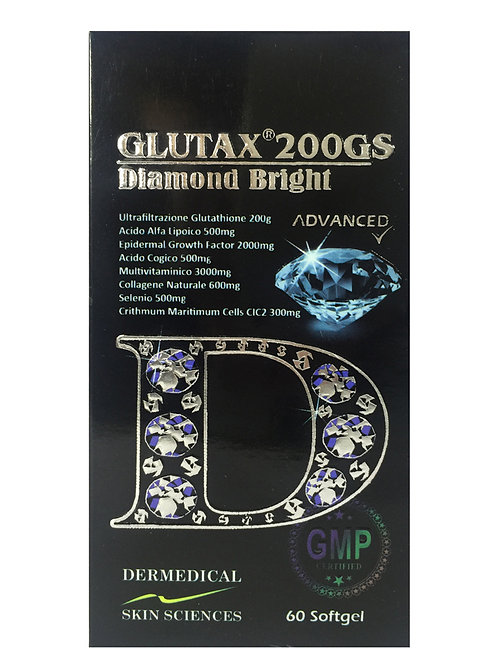 Glutax 200gs Diamond Bright Glutathione Softgels