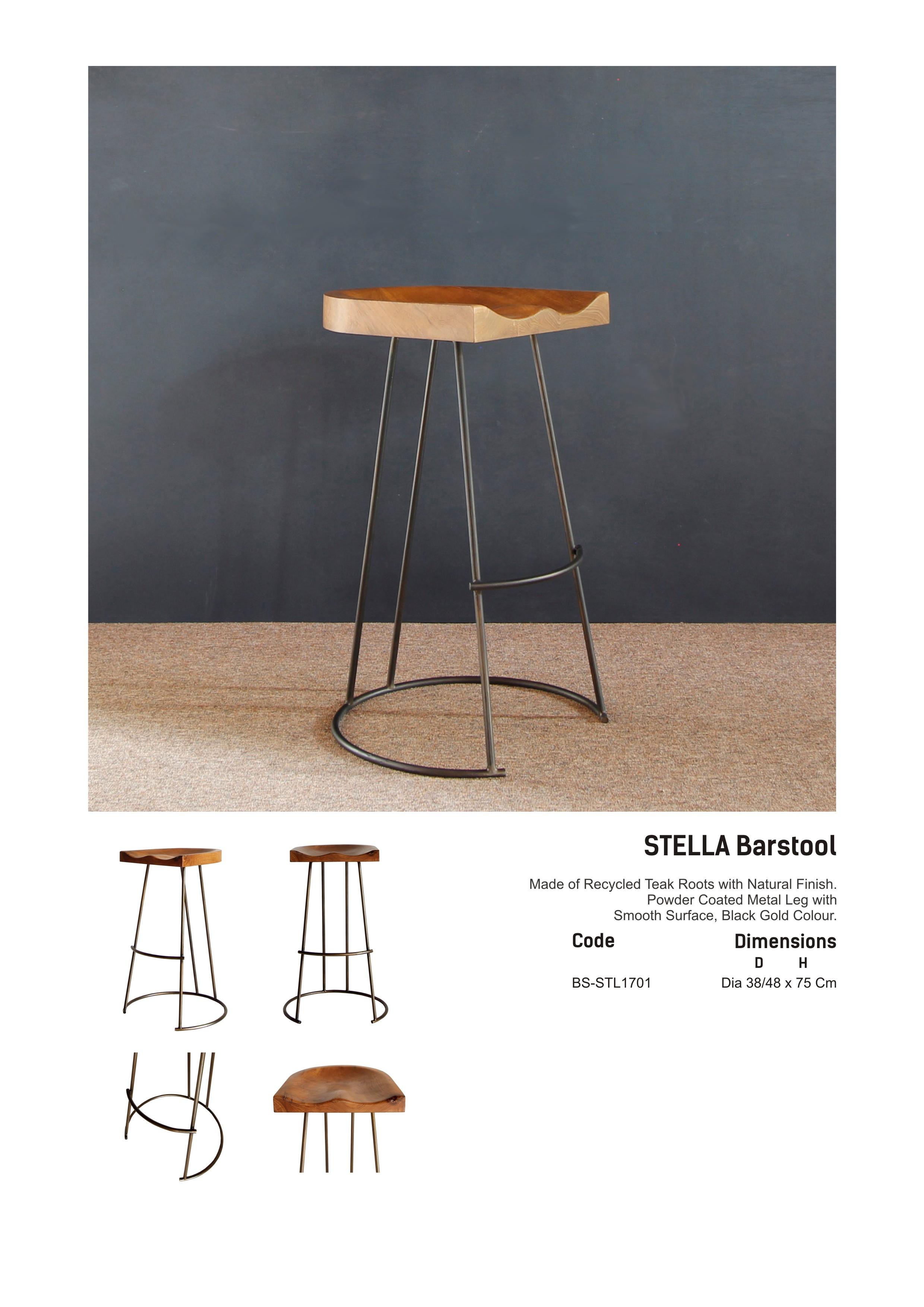 17. STELLA - Bar stool